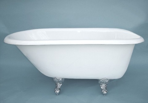 54 classic clawfoot bathtub with imperial ball and claw feet